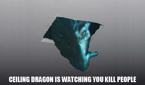 Every time you kill someone, the spirits kill a dragon.