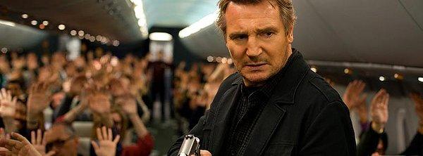 """Liam Neeson in """"Non-Stop"""""""