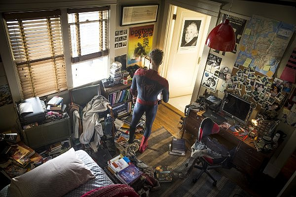 Like Peter Parker's room, this film is a mess.