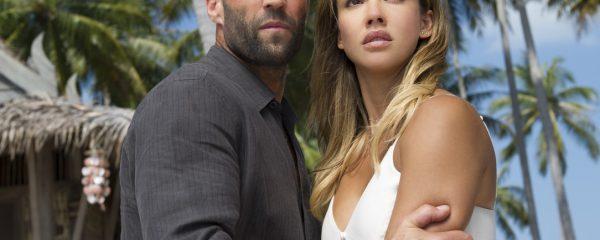 Jason Statham and Jessica Alba in Mechanic: Resurrection